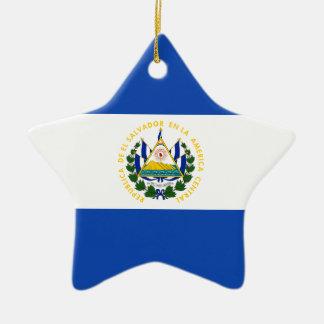 安価! エルサルバドルの旗 セラミックオーナメント