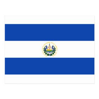 安価! エルサルバドルの旗 ポストカード