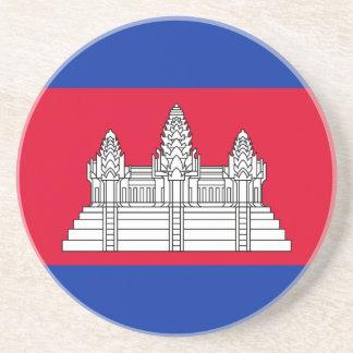 安価! カンボジアの旗 コースター