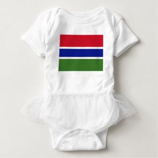 安価! ガンビアの旗 ベビーボディスーツ