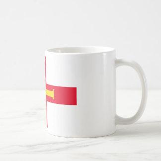 安価! ガーンジーの旗 コーヒーマグカップ