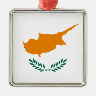 安価! キプロスの旗 メタルオーナメント