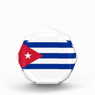 安価! キューバの旗 表彰盾