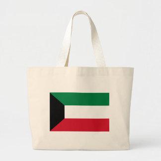 安価! クウェートの旗 ラージトートバッグ