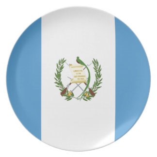 安価! グアテマラの旗 プレート