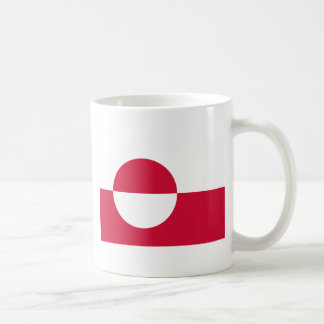 安価! グリーンランドの旗 コーヒーマグカップ