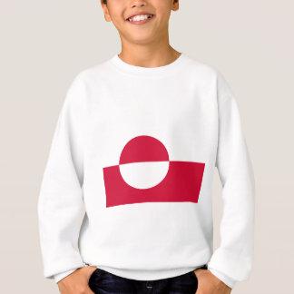 安価! グリーンランドの旗 スウェットシャツ