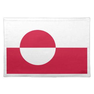 安価! グリーンランドの旗 ランチョンマット