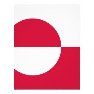 安価! グリーンランドの旗 レターヘッド