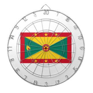 安価! グレナダの旗 ダーツボード