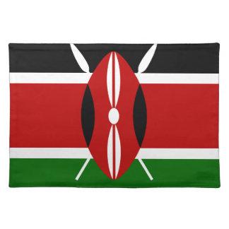 安価! ケニヤの旗 ランチョンマット