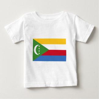 安価! コモロの旗 ベビーTシャツ