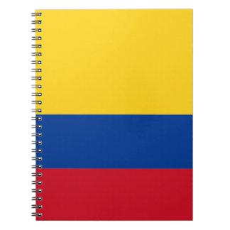 安価! コロンビアの旗 ノートブック