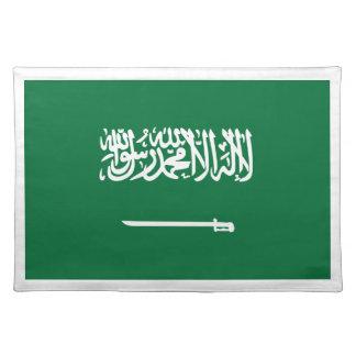 安価! サウジアラビアの旗 ランチョンマット