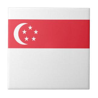 安価! シンガポールの旗 タイル