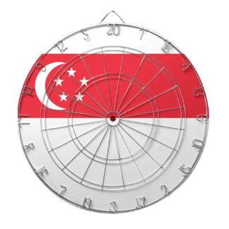安価! シンガポールの旗 ダーツボード