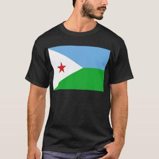 安価! ジブチの旗 Tシャツ
