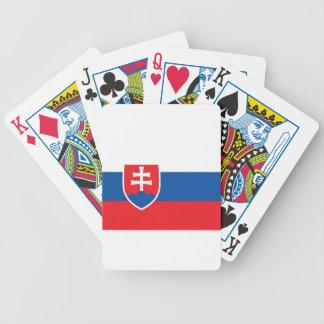 安価! スロバキアの旗 バイスクルトランプ
