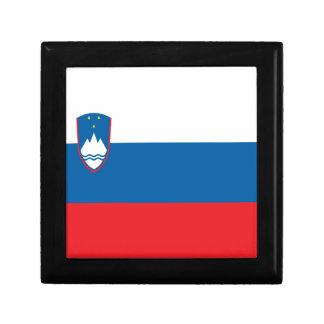 安価! スロベニアの旗 ギフトボックス