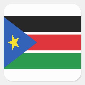 安価! スーダンの南旗 スクエアシール