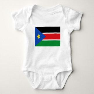 安価! スーダンの南旗 ベビーボディスーツ