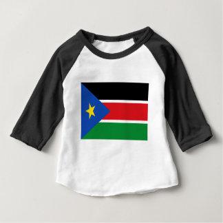 安価! スーダンの南旗 ベビーTシャツ