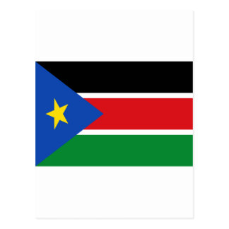 安価! スーダンの南旗 ポストカード