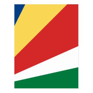 安価! セイシェルの旗 ポストカード