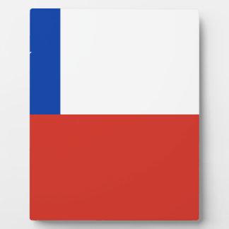 安価! チリの旗 フォトプラーク