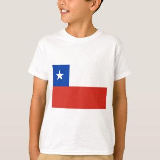 安価! チリの旗 Tシャツ