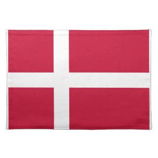 安価! デンマークの旗 ランチョンマット
