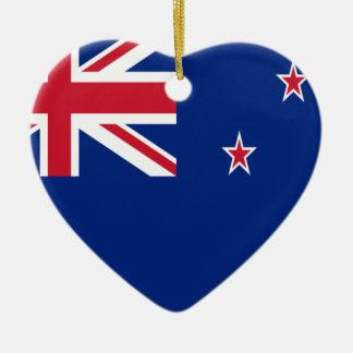 安価! ニュージーランドの旗 セラミックオーナメント