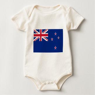安価! ニュージーランドの旗 ベビーボディスーツ