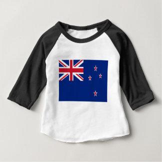 安価! ニュージーランドの旗 ベビーTシャツ
