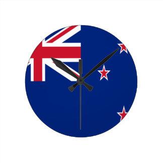 安価! ニュージーランドの旗 ラウンド壁時計