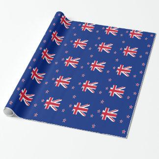 安価! ニュージーランドの旗 ラッピングペーパー