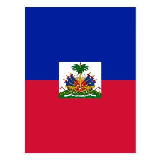安価! ハイチの旗 ポストカード