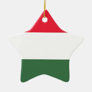 安価! ハンガリーの旗 セラミックオーナメント