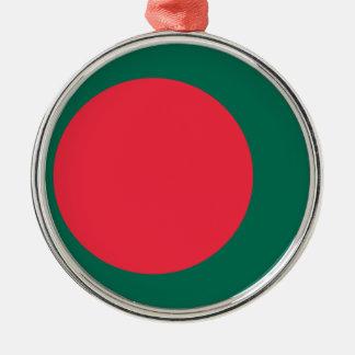 安価! バングラデシュの旗 メタルオーナメント