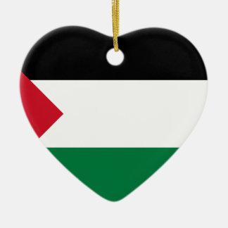 安価! パレスチナの旗 セラミックオーナメント