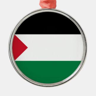 安価! パレスチナの旗 メタルオーナメント