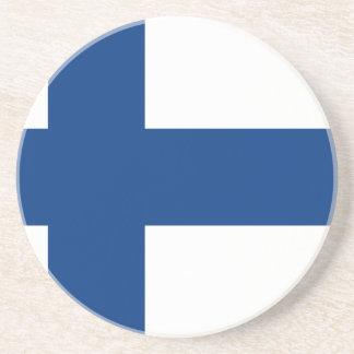 安価! フィンランドの旗 コースター