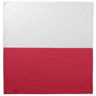 安価! ポーランドの旗 ナプキンクロス