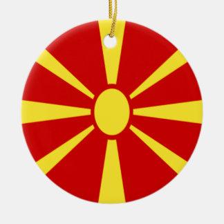 安価! マケドニアの旗 セラミックオーナメント