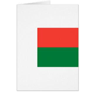 安価! マダガスカルの旗 カード