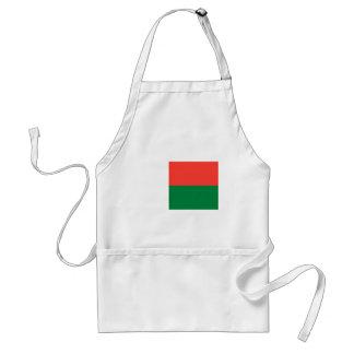 安価! マダガスカルの旗 スタンダードエプロン
