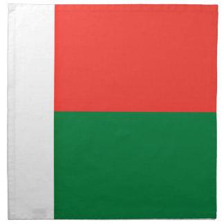安価! マダガスカルの旗 ナプキンクロス