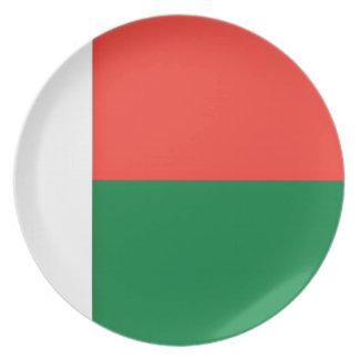 安価! マダガスカルの旗 プレート