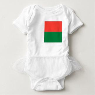 安価! マダガスカルの旗 ベビーボディスーツ