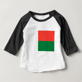 安価! マダガスカルの旗 ベビーTシャツ